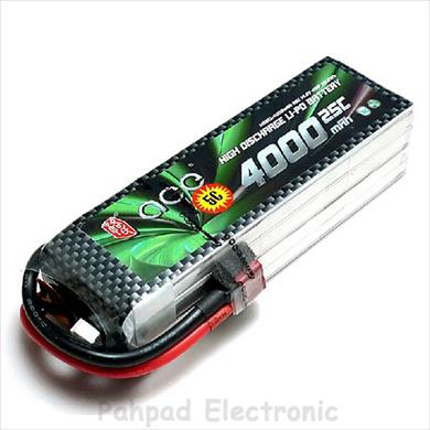 باتری Ace 4000mAh 25C 14.8V 4S1P - 2017-Apr