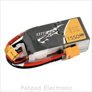 باتری Tattu 1550mAh 11.1V 75C 3S1P for FPV - 2017-Mar