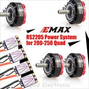 پک EMAX RS2205S RaceSpec Motor (With Bullet 30A Combo)