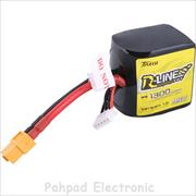 باتری Tattu R-line 1300mAh 14.8V 95C 4S1P for FPV