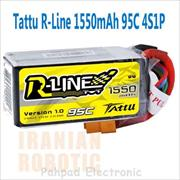 باتری Tattu 1550mAh 14.8V 95C R-LINE - 2017-Jan